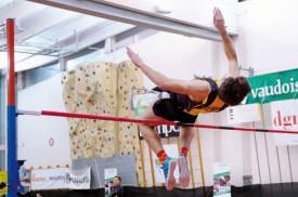 Loïc Gasch a battu son record personnel d'un centimètre. © Champi