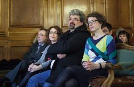 La gauche yverdonnoise était sous le choc, dimanche soir, suite à leur résultat décevant à la Municipalité et à l'effondrement de l'aile gauche au Conseil. © Simon Gabioud