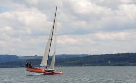Le M2 Team Seven a dicté sa loi sur le lac de Neuchâtel. © Christiane Baudraz