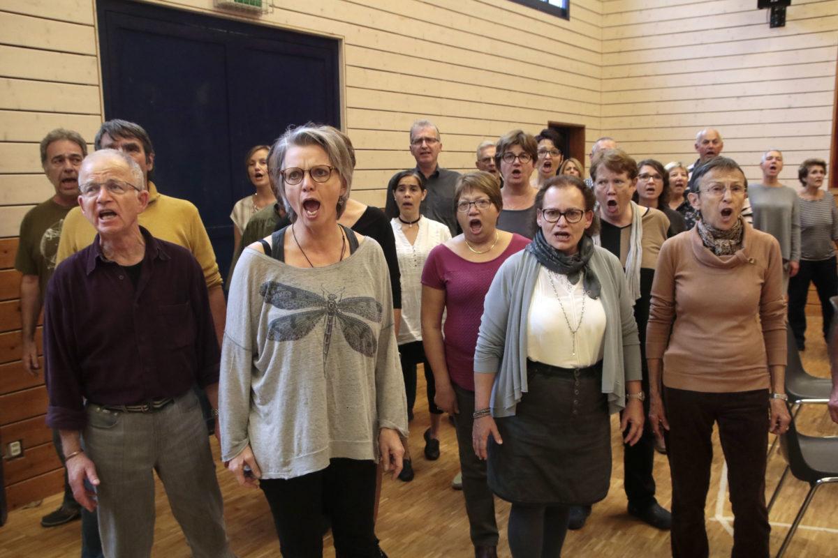 Un chœur uni pour faire vivre un opéra