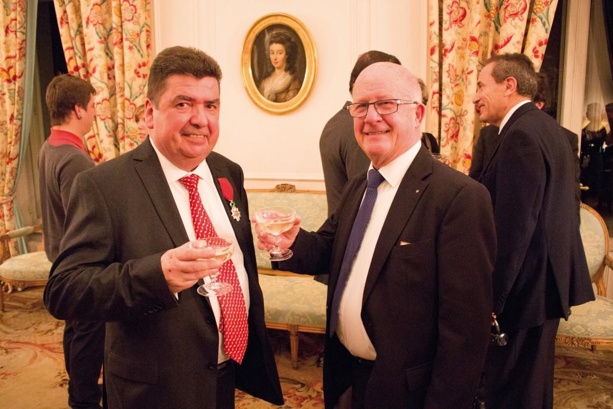 André Huon a reçu la Légion d'honneur