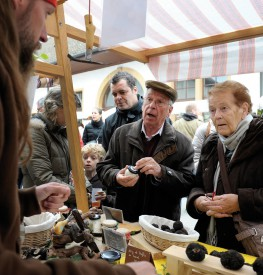 Le Marché ne sera plus l'unique vitrine de la truffe à Bonvillars. © Jacquet-a
