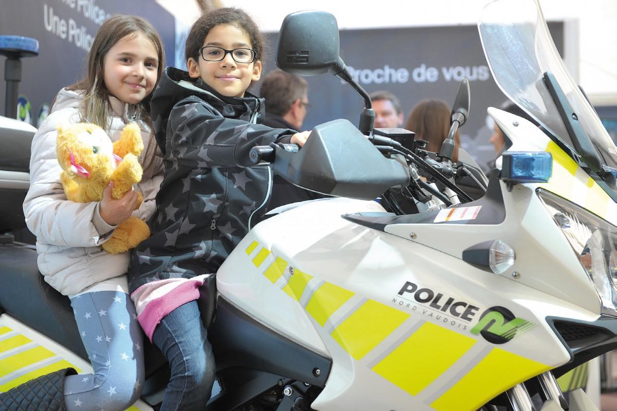 La police en mode «sympa»