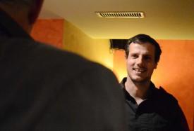 Xavier Margairaz n'a pas caché son plaisir à échanger avec les membres du Club des Milles. Un sentiment partagé. © Lionel Pittet