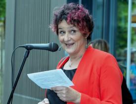 Anne-Sophie Betschart, la municipale des écoles d'Yvonand. © Champi