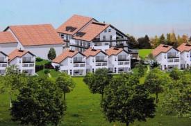 Pro Natura persiste dans son opposition au projet immobilier du Petit Vailloud, malgré l'abandon par le promoteur de l'immeuble de quatorze appartements (en haut, à droite de la ferme existante). DR
