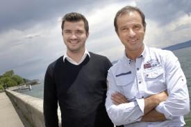 Mario Di Pietrantonio (à dr.) s'est trouvé un nouveau second à la tête d'YS, en la personne de Ludovic Herren. © Michel Duperrex