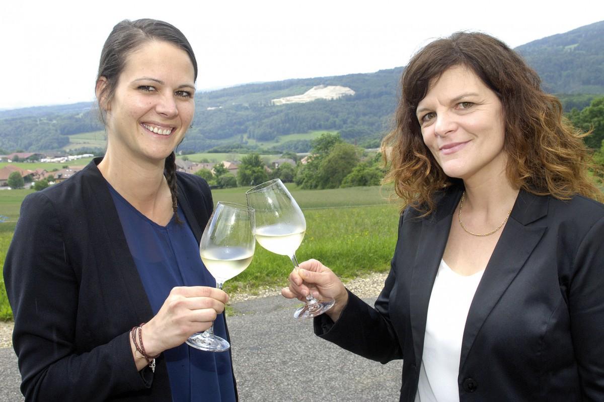 Le vin a deux ambassadrices de choix