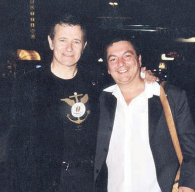 Francis Huster et François Menna. DR