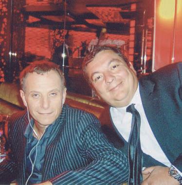Charles Berling et François Menna. DR