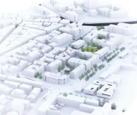 Des logements pour des familles, des surfaces commerciales, deux-trois zones vertes, tel est le visage idéal que devrait avoir, dans le futur, la place d'Armes d'Yverdon-les-Bains, aux yeux de l'UDC Pascal Gafner. DR