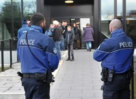 Présence policière, des dizaines de journalistes, un très nombreux public... Le procès de Claude D., qui s'est ouvert lundi, à Renens, est ultra-sensible. © Michel Duperrex