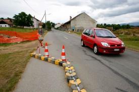 Deux ralentisseurs de trafic seront installés à l'entrée de Bavois.
