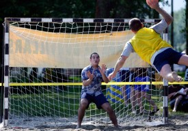 Le beach-handball, une discipline spectaculaire au possible.