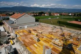 La nouvelle salle polyvalente devrait être prête en avril 2010.