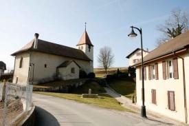 L'Eglise de Gressy sera-t-elle toujours au centre du village ou en périphérie d'Yverdon?