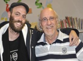 Les duos Dès et Derib (photo), pères et fils, ont raconté comment s'est opérée, chez eux, la transmission familiale de cette passion pour le métier d'artiste. © Michel Duperrex