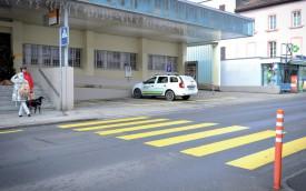 Le passage piétons où s'est déroulé l'accident. ©Carole Alkabes
