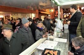 Le stand du Rotary Club Yverdon-les-Bains a, comme de coutume, attiré un nombreux public. Les actions sociales du club-service en bénéficieront. ©Michel Duperrex