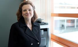 Catherine Hirsch est la directrice de la HEIG-VD depuis le 1er janvier 2012. Elle occupait le poste de directrice adjointe de la haute école depuis le début de l'année 2007. ©Ludovic Pillonel