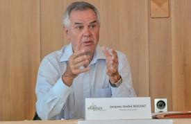 Jacques-André Rochat, président du «Comité de soutien Eoljoux». ©Pierre Blanchard