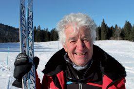 Directeur de l'école de ski du Centre nordique du Mollendruz, Jean-Louis Reymond compense son handicap par la parfaite connaissance de la région où il évolue. ©Charles Baron