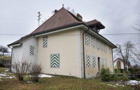 La cure de Champvent a été partiellement reconstruite en 1762 par Abraham Burnand. ©Michel Duperrex