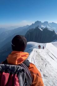 Le groupe jeunesse permet de découvrir la montagne en toute saison. ©DR