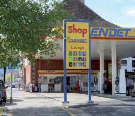 En dix ans, ce shop a été braqué et cambriolé deux fois. ©Michel Duperrex