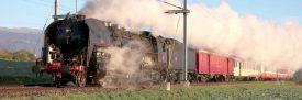L'association 141.R.568 organisera une course estivale pour découvrir la magie des trains à vapeur à bord d'une locomotive unique au monde. ©DR