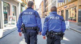 Les agents patrouillent désormais entre 10h et 22h au sein des rues piétonnes du centre-ville. ©Carole Alkabes