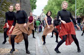 Les danseuses d'Excel Danse. ©Michel Duperrex
