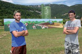 Christian Cachemaille (à g.) et Steve Deriaz. ©Michel Duperrex