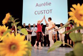 Tope là! Aurélie Custot a obtenu son certificat de formation élémentaire en tant qu'ouvrière en carrosserie. ©Michel Duperrex