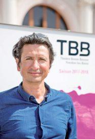 Georges Grbic se sent déjà chez lui au Théâtre Benno Besson. ©Simon Gabioud