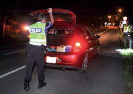La Police cantonale a contrôlé de manière systématique les véhicules qui roulaient d'Yvonand en direction d'Yverdon-les-Bains. ©Carole Alkabes