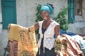 L'association soutient des enfants malades dans le village de Sisina. ©DR