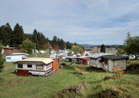 Une extension du camping est prévue dans le projet. ©Michel Duperrex