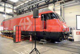 L'entreprise italienne Pininfarina a réalisé le design du véhicule ferroviaire. ©Michel Duvoisin