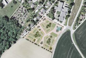 Les trois îlots de bâtiments se verront octroyer une surface de 100 m2 pour des locaux communautaires. ©Dolci Architectes