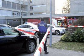 Le collège Léon-Michaud avait été le théâtre d'un incendie intentionnel en mars 2015. ©Michel Duperrex