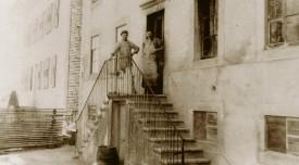 La laiterie du Brassus, reconstruite après l'incendie de 1895. ©DR