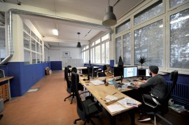 Depuis le mois d'août, l'entreprise Nocta s'est installé dans un espace de travail partagé. ©Michel Duperrex