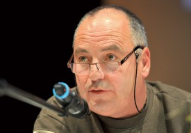 Guy-Charles Monney, président de la Société vaudoise des pêcheurs en rivières.©Michel Duperrex