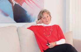 Colette Henry a suivi de près les élections américaines. ©Valérie Beauverd