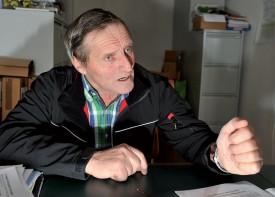 Claude Roulet ne manque ni d'argument ni d'entêtement pour défendre avec vigueur les pratiques communales. ©Michel Duperrex