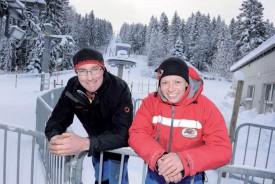 Alain Simon et Katia Cruchaud ne seront pas au départ de la saison à venir. ©Jacquet-a