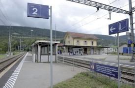La gare du Day ne fera bientôt plus partie du paysage. Elle sea déplacée et reconstruite. ©A-Duperrex
