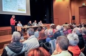 La séance d'information du mois dernier avait réuni un nombreux public. ©Alkabes-a