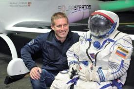 Dès 2018, le pilote Raphaël Domjan réalisera son rêve, à bord de son avion solaire, et s'envolera en direction de la stratosphère. ©Michel Duperrex